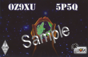 2013-2018, When used with call sign OV5O a label is added.